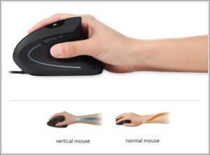 postura com mouse