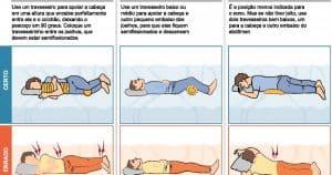postura ao dormir
