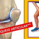 Bloqueio ou travamento articular do joelho