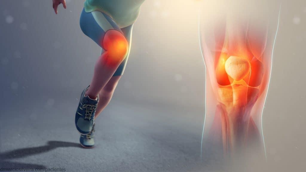 edema anterior joelho