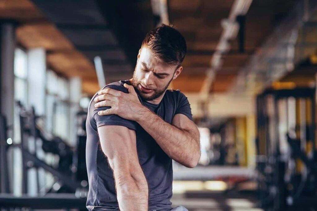 lesões nos ombros na pratica de musculação
