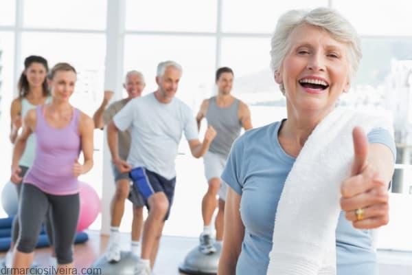 exercícios previnem morte precoce em idosos